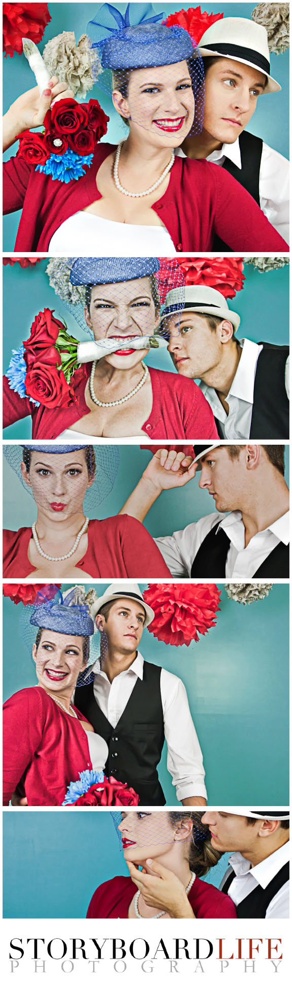 1950s style wedding shoot by breast cancer photo shoot photographer storyboard life
