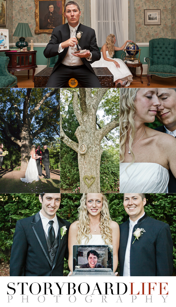 Wedding Photographed by breast cancer photographer