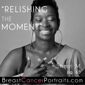 Breast Cancer Survivor Inspirational Quote and Photo