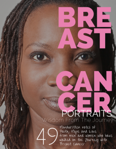 breast cancer portraits book cover